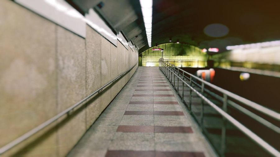 Platforms Boarding Platform Deserted Transportation Commute Passengers Users Urban Montreal Subways Plamondon Architecture