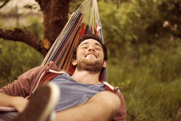 Chillipopilli Sogar Nüchtern Outdoors Portrait Beard