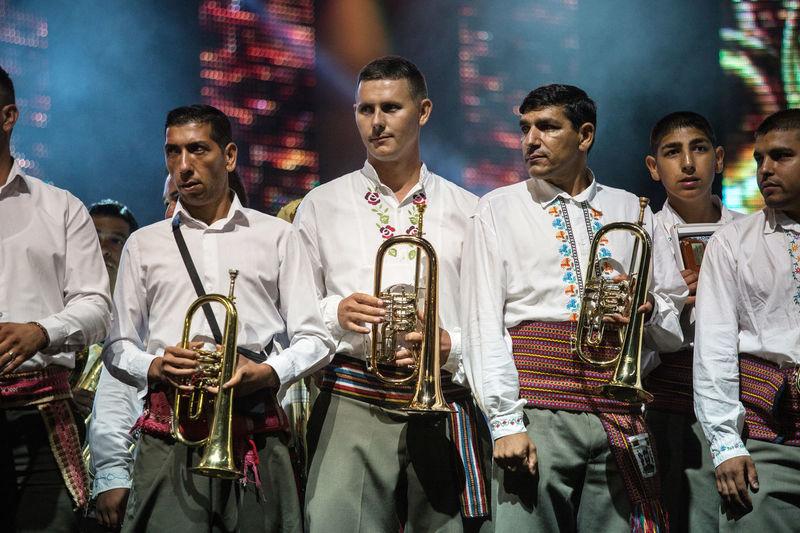 Guca Trumpet Festival Serbia Guca Koncert Musician Press Photography Reportage Trumpet Trumpets Trumpets Festival Trumpets Are The Best