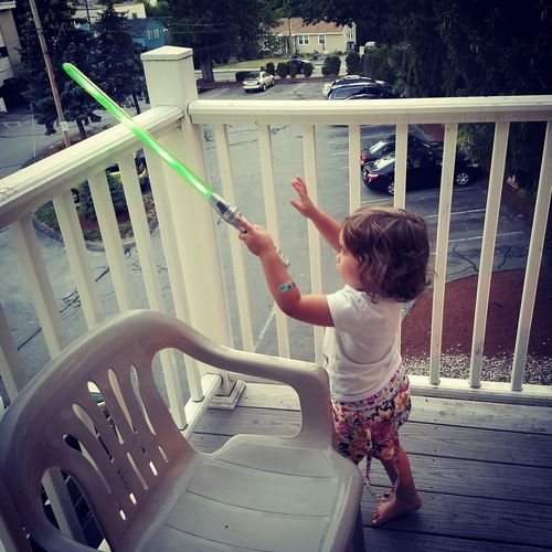 Use The Force Teach Them Young Girls Rock Star Wars