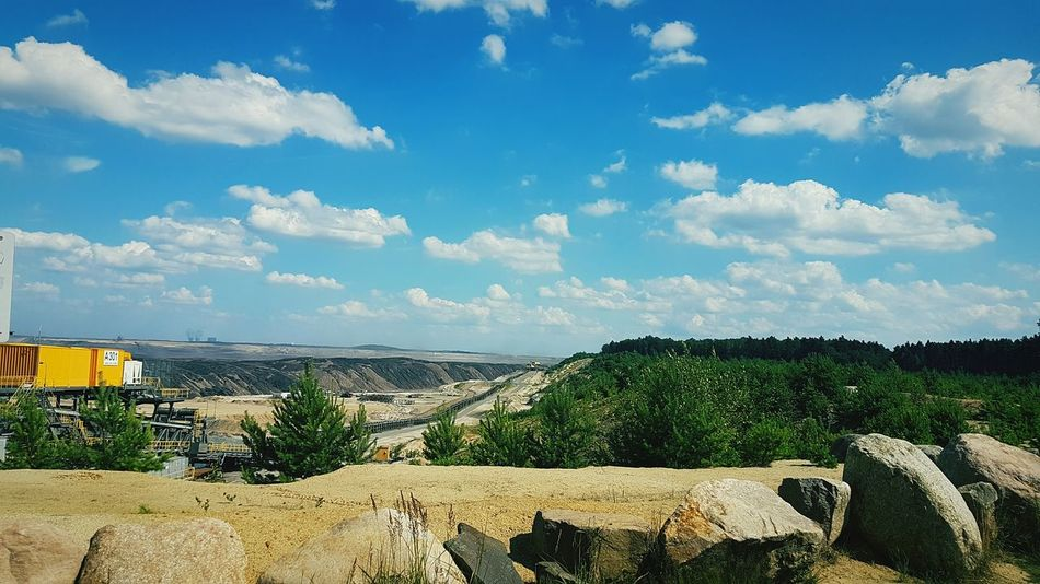 EyeEm Selects Cloud - Sky Summer Vacations Open-cast Mining Coal Likemars Outdoors