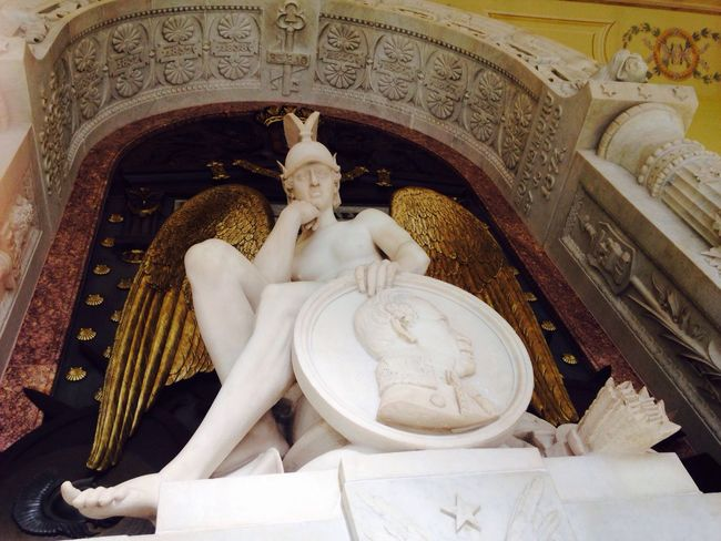 Madrid Madrid Spain España Human Representation Statue Religion Low Angle View Sculpture No People Spirituality Place Of Worship Indoors  Day