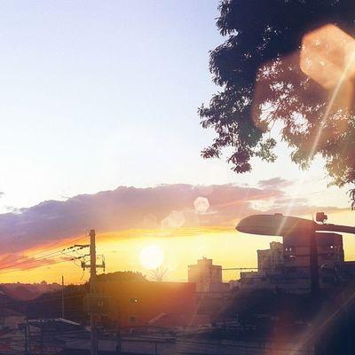 Nada como a vista de uma janela. Window Sunset Brazilsun EyeEm Best Edits