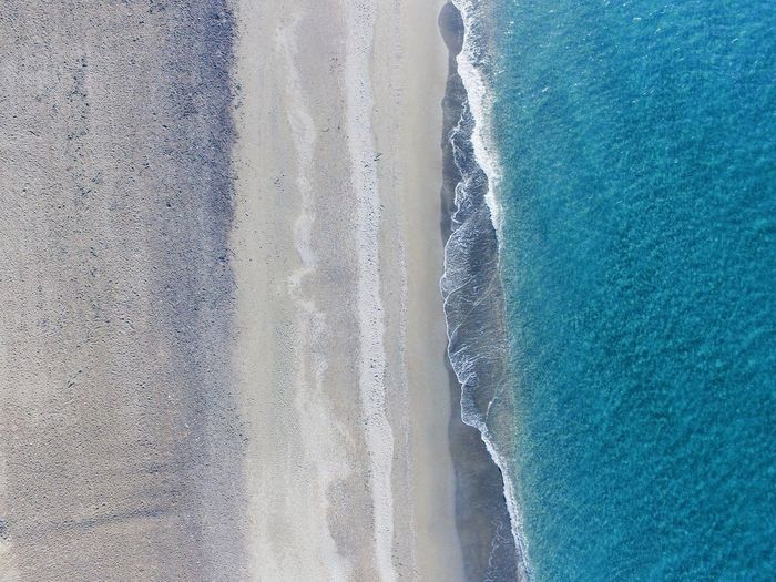 Drone shots from Torrox, Spain Andalucía Malaga Torrox SPAIN Dji Phantom 3 Phantom Droneshot Drone Photography Dronephotography Drone  Water No People Sea Land Nature Beauty In Nature Day High Angle View Scenics - Nature Beach Blue Outdoors Sport Pattern Aquatic Sport Motion Full Frame Reflection The Great Outdoors - 2018 EyeEm Awards