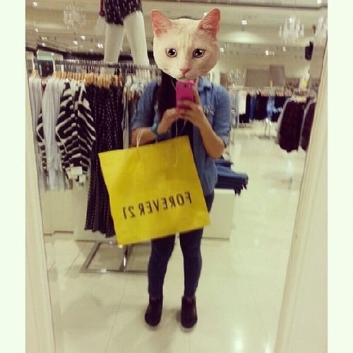Bought something for myself. Payday! :) F21PH CATWANG
