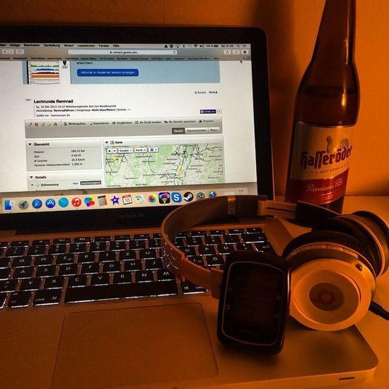 Sonntag New Tour Rennrad Ammersee Bavaria Bayern BEATS Hasseröder Garmin Garminfitness Apple Mac MacBook MacBookPro Pils Bier Gpx