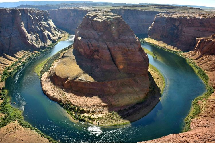 Beauty In Nature Colorado River Horseshoe Bend Outdoors River Rock Formation Scenics Tranquility Travel Destinations Lost In The Landscape
