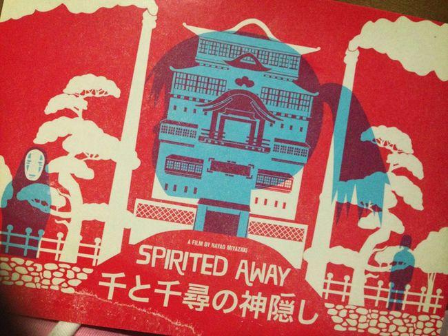 Hayao Miyazaki Spirited Away Studio Ghibli Animation - remembering university breaktime!