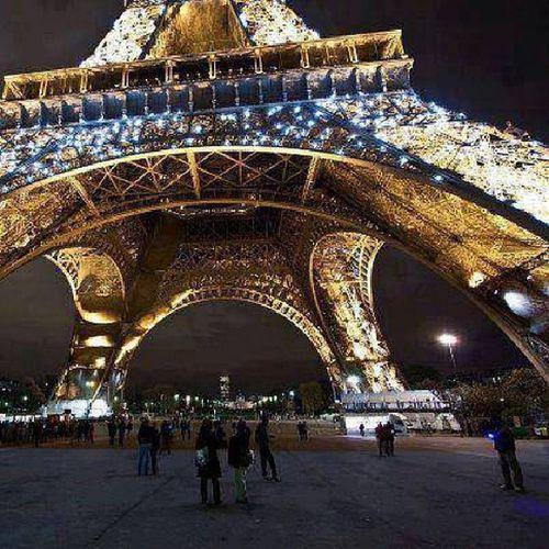 Paris At Night Is Dat Shit... EiffelTowerLOVE