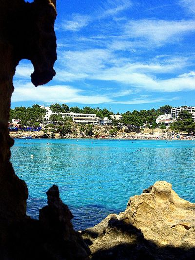 Portinax Ibiza España Paisaje Marino Paisaje Natural Viajes  Travel Hidden Gems