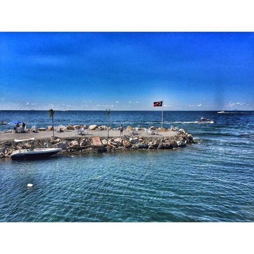 Türkbayrağı Sahil Deniz First Eyeem Photo