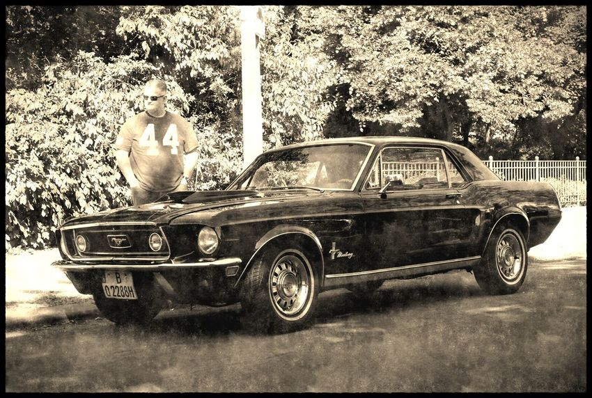 that´s me on the picture Car Ford Mustang 1967 Musclecar Mustang Old Car Oldtimer Retro Styled Vintage