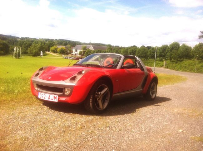 MeinAutomoment Outdoors No People Smart Roadster Scenery Day