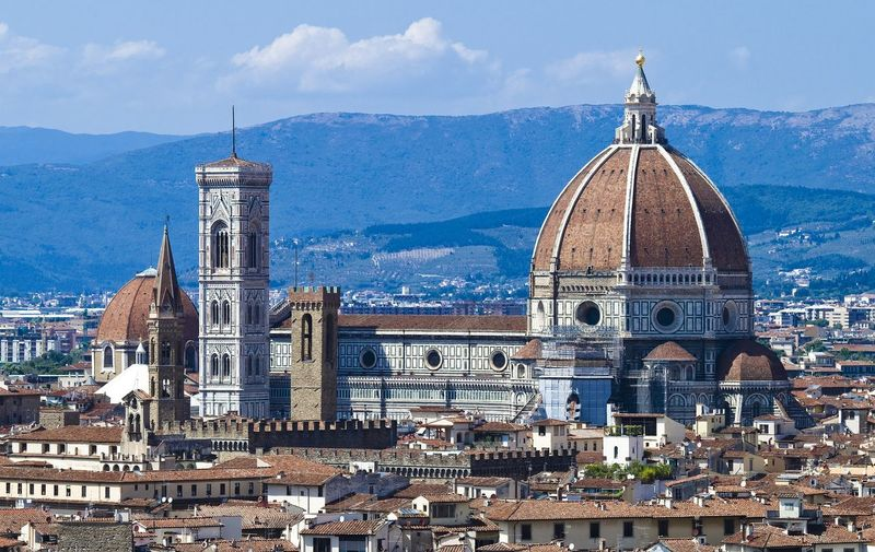 Firenze duomo Outdoors Outdoor Photography Firenze Duomo City Cityscape cityscapes City Cityscape Dome Mountain Sky Architecture Building Exterior Built Structure Tower
