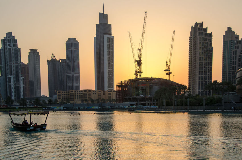 Architecture Building Exterior Built Structure City Cityscape Clear Sky Connection Crane Engineering Famous Place Harbor International Landmark Modern Nautical Vessel Outdoors Tall Tall - High Tower Water Waterfront