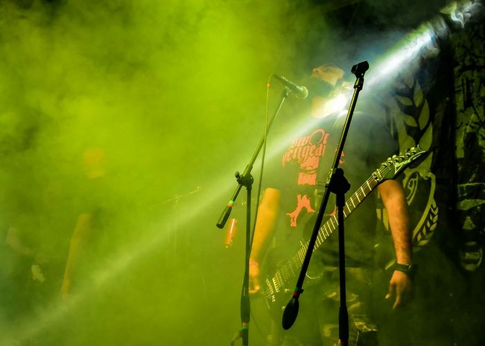 Gods Of Metal Smoke Stagephotography