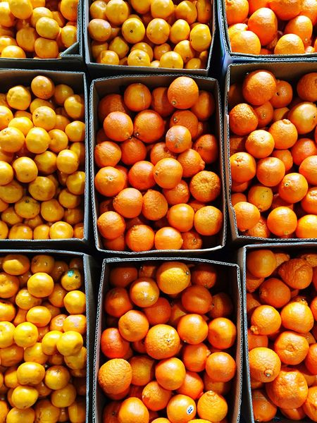 Oranges At The Market Fresh Fruit