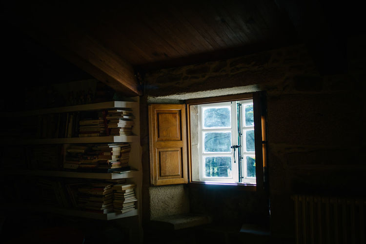 books, books, books Modern Hospitality Books Closed Curtain Dark Day Domestic Room Empty Hikinggalicia Home Is Where The Art Is No People Open Sunlight Window Wood - Material Place Of Heart