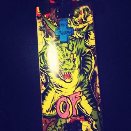My board :/ Ofwgkta OFWGKTADGAF Frank Ocean