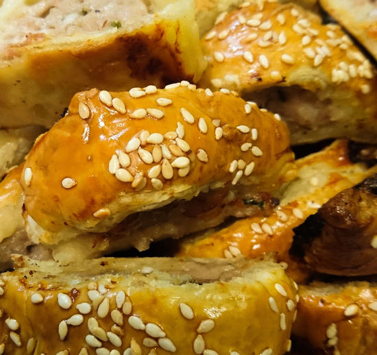 Food And Drink Bakery Bread Baked Food No People Horizontal Close-up Freshness Day Ready-to-eat Comfort Food Carbohydrate - Food Type Homemade Food And Drink Pastry Sausage Rolls! Sausageroll Sausage Roll Sausage