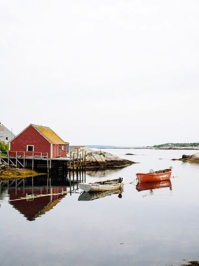 reflections 3 Peggyscove Backbube Water Built Structure Architecture Sky Building Exterior Copy Space Building Clear Sky Reflection House Nature Outdoors Waterfront No People