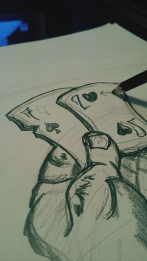 Let's say fuck it and play the cards you're dealt... See if this one ever sees a finished date Never Finished Quick Sketch Fuckit