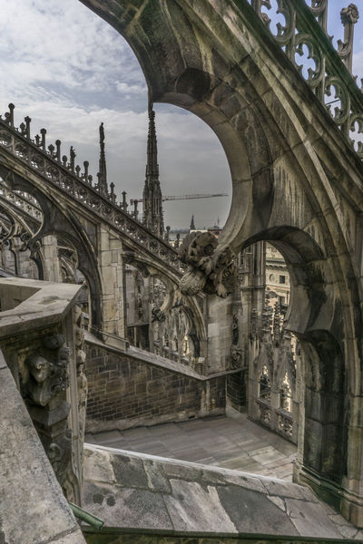italia Ancient Ancient Civilization Arch Architecture Building Exterior Built Structure Day Duomo History Italia Italie Italien Italy Italy❤️ Italy🇮🇹 Mailand Milan Milano No People Outdoors Sky The Past Travel Destinations ıtaly