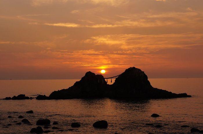 Sunset Beauty In Nature Sun Sky Sea 二見ヶ浦 糸島