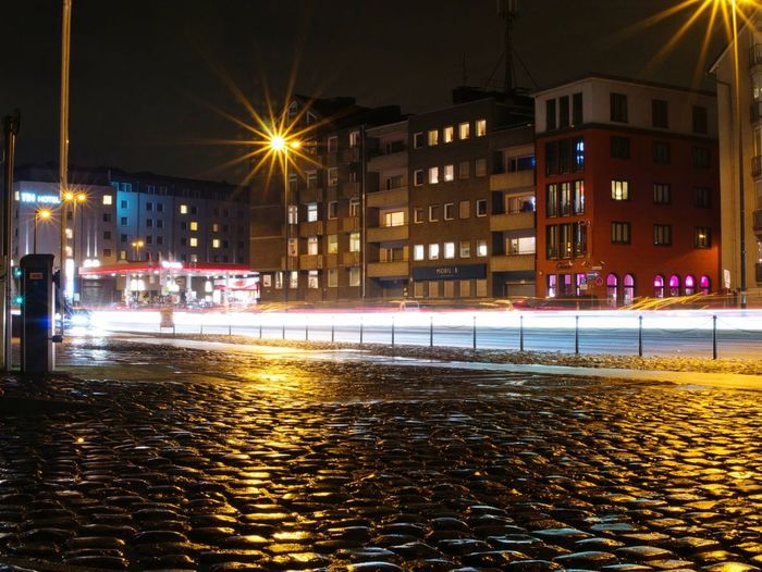 More Citylights Citylights Night Illuminated Architecture Building Exterior Built Structure Street Winter Outdoors Mobility In Mega Cities
