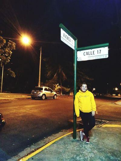 City Road Sign