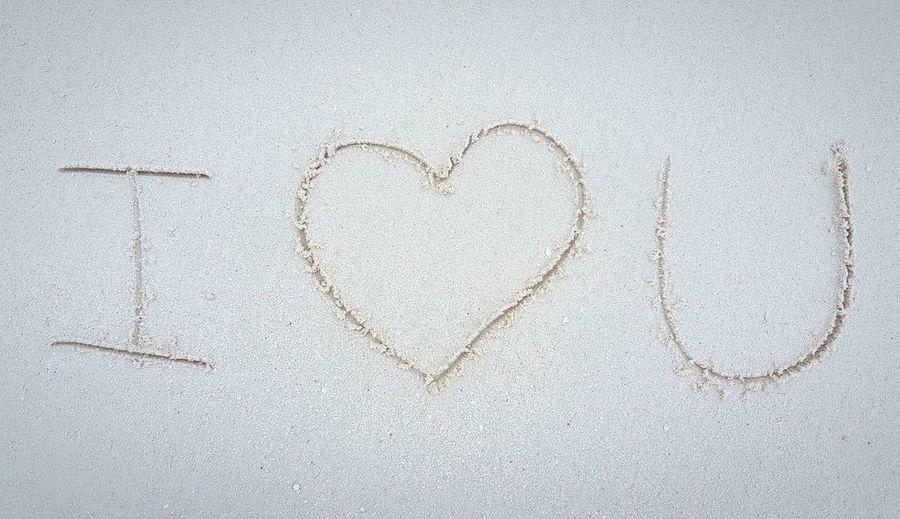 Heart Shape Love Sand Textured  Backgrounds i love you Couple Wedding