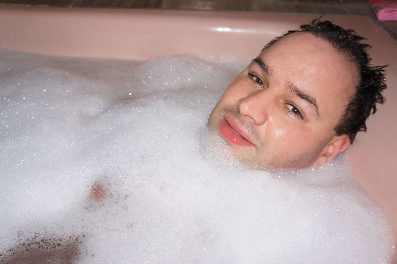 Man in the bathtub Bath Bath Time Bathtub Close-up Enjoyment Front View Happiness Headshot Human Face Indoors  Leisure Activity Lifestyles Looking At Camera Man Person Portrait Smiling Toothy Smile Young Adult Young Women