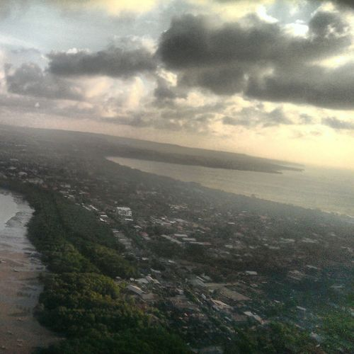 Bali, Indonesia From Up