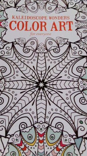 Kaleidoscope Wonders Colorart Coloringbook
