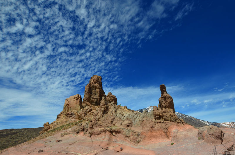 Sky Cloud - Sky Scenics - Nature Rock Formation Rock Rock - Object Tranquil Scene Beauty In Nature Tranquility Physical Geography Environment Nature Landscape Geology Land Remote Travel Destinations Blue No People Arid Climate Climate Outdoors Eroded Tenerife Los Roques