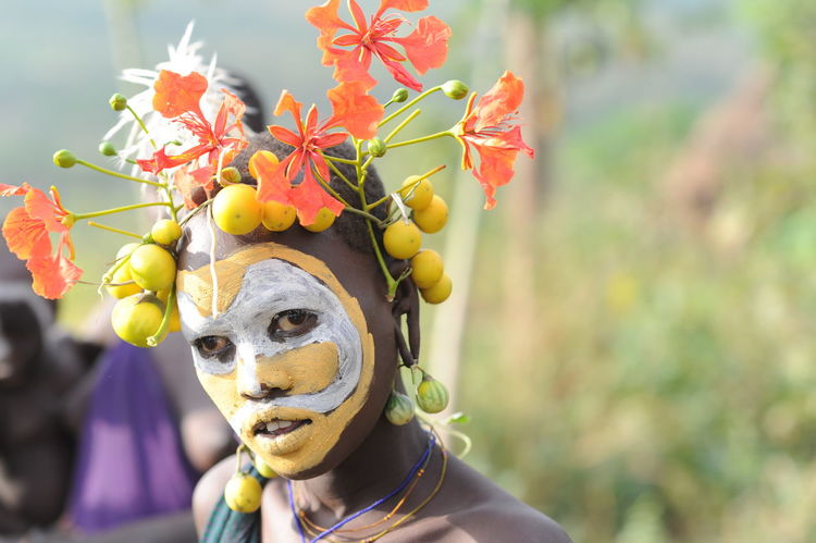 Painted Beauty - Easter in Ethiopia African Beauty African Tribe Close-up Ethiopia Ethiopia Sumo Peopl Human Body Part Omo River Outdoors Painted Beauty ' People Spring Flowers Tribal Beauty Unique Beauty Women