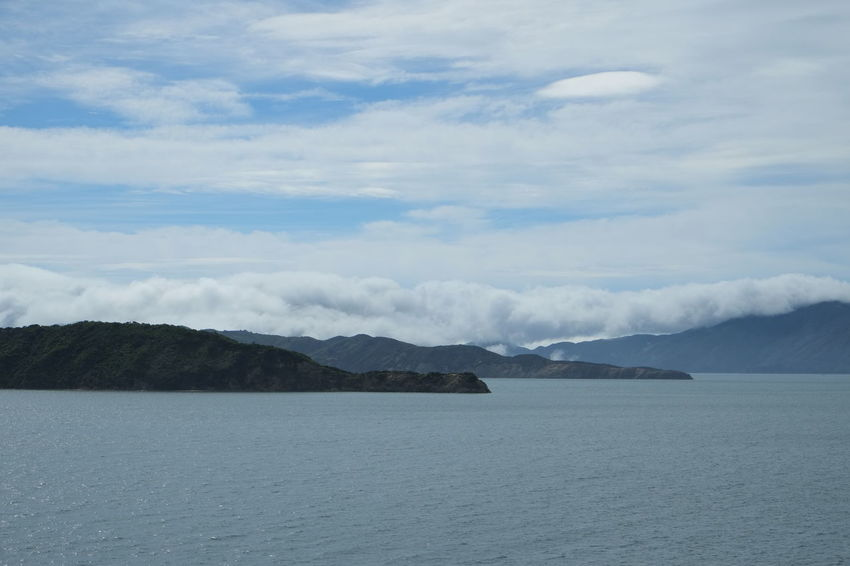 Wellington New Zealand - Cook Strait - Nils Nowacki - 2016 Cloud Cook Strait Marlborough Sounds New Zealand Sounds Strait Water Weather Landscapes With WhiteWall Thiscouldbenewzealand