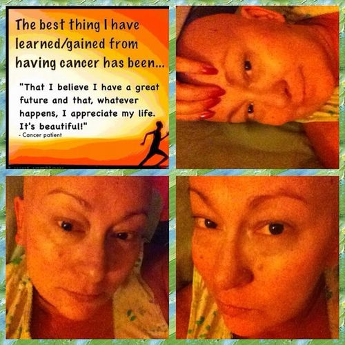 The Human Condition Beautiful ♥ Hello World That's Me Fightingcancer Cancerawareness CancerSucks Love♥ Hi!