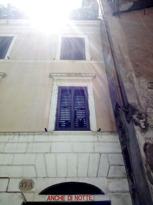 Architecture Built Structure Sunlight No People Day Building Exterior City Cityscape Rome Roma