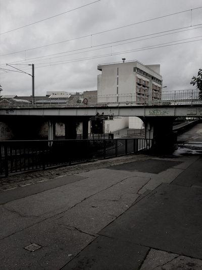 Exploring Black And White City Taking Photos