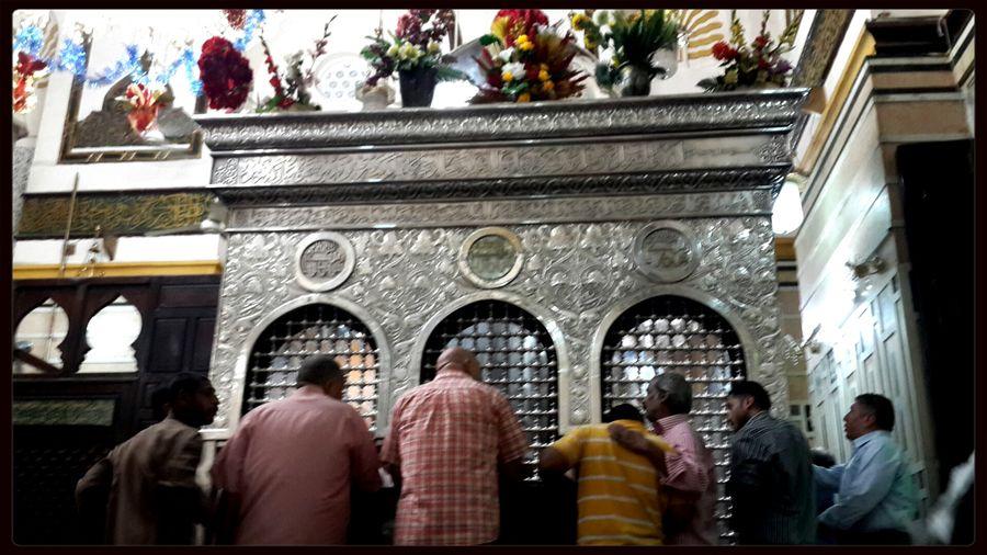 Egypt Cairo AlSaydaZeinab Mosque Maqam