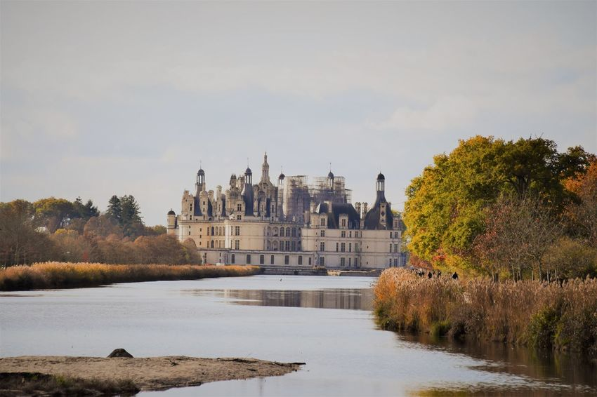 Chateau de Chambord chambord Autumn blois Loire Valley France visiting Tourist old history destination Chateau De Chambord Chambord Autumn Blois Loire Valley France Visiting Tourist Old History River Lake Autumn Colors Europe World Heritage