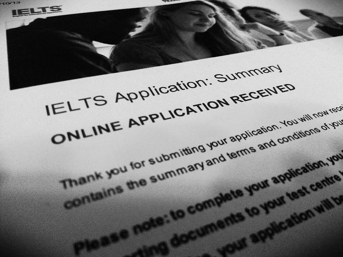 IELTS Here I Come!