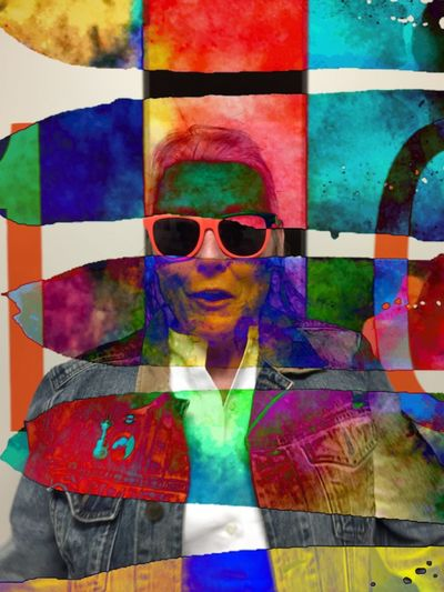 Channeling Andy Warhol NEM GoodKarma Ultra Color Behind The Veils NEM Painterly NEM Mood NEM Submissions NEM Avantgarde NEM Self Shootermag