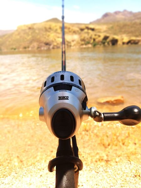 Product Placement Zebco Reel Fishing Fishing Time Water Day Outdoors Lake Lake View