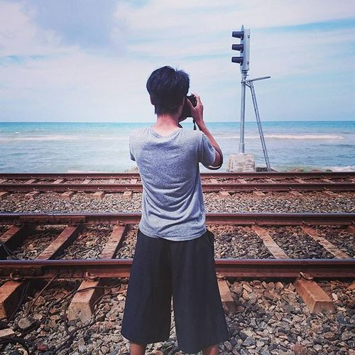 Photographer 你好攝影師 Beach Light Railway Sea Ocean
