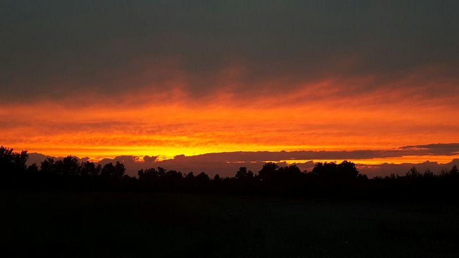 Beautiful sunset tonite Sunset Sunset_collection Note5 Nofilter#noedit Nofilter Godscreation Beautiful Nature Eye4photography  EyeEm Best Shots Eye Em Nature Lover