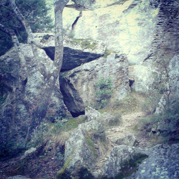 Trailrunning Trail Running Trail Running Trou De La Lune Les Angles Gard