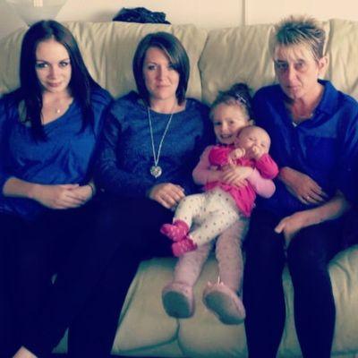Family Love Memories England mam sister nieces