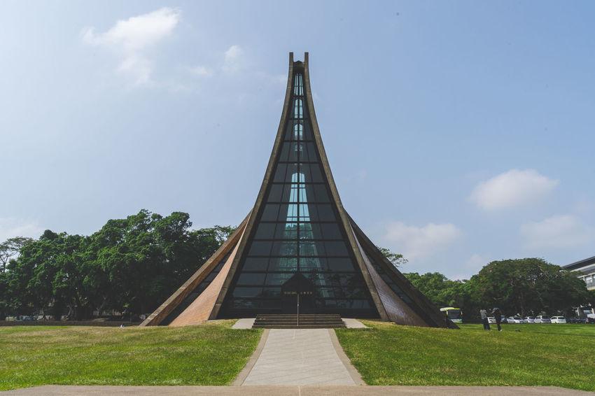 Architecture Christian Church Day Luce Memorial Chapel Outdoors Sky Taichung Taiwan Travel Destinations Tunghai Tunghai University EyeEmNewHere